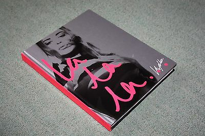 "RARE: ""La La La"" : Kylie Large First Edition Hardback Book 2002"