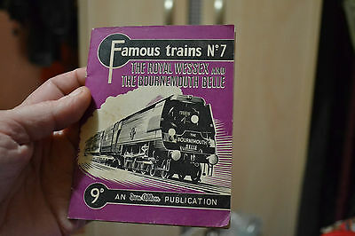 famous trains booklet no7 the royal wessex and the bournemouth belle