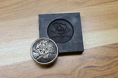 Killer Chef Silver Gold graphite mold Pewder foundry lampwork casting Parts4less