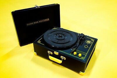 Third Man Records Crosley Turn Table Record Player Portable USB