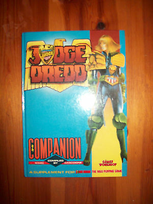 Judge Dredd Role playing game RPG Companion book