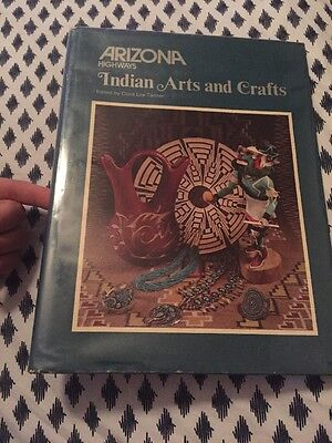 1976 Arizona Highways Native American Indian Arts and Crafts Hard Cover Book