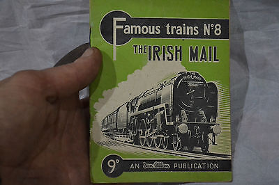 famous trains booklet no8 the irish mail