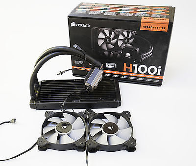 Corsair H100i CPU Liquid Water Cooler