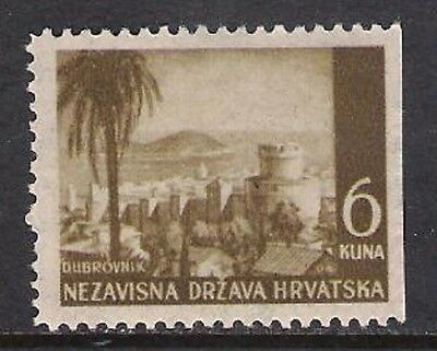 Croatia 1941.-1945. imperforated right side