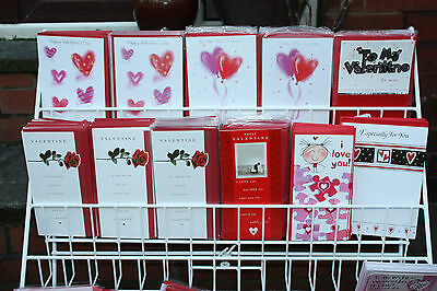 Valentines Day Cards Job Lot-155 Assorted Quality Cards-New