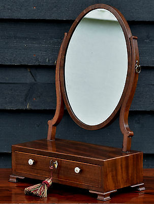 Antique Dressing Table Mirror/ Jewellery Box