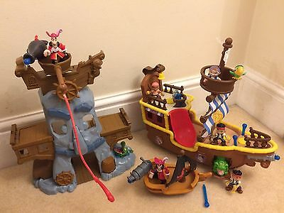 Jake And The Neverland Pirate Toy Bundle
