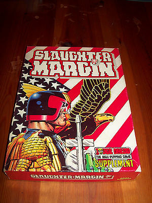Judge Dredd RPG and Slaughter Margin scenario 2000AD role playing game