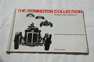 Vintage Donington Collection F1 Official Catalogue 1973