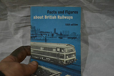 facts and figures about British railways 1958