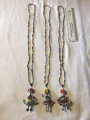 African Bead Doll Necklace (3)