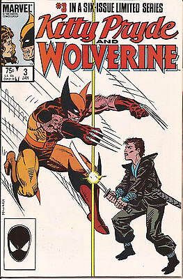 Kitty Pryde and Wolverine #3 (Jan 1985, Marvel)