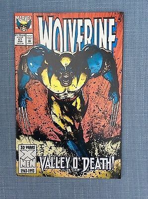 """Marvel Comics Wolverine  #67 March 1993 """" Valley O'Death"""" Near Mint condition"""