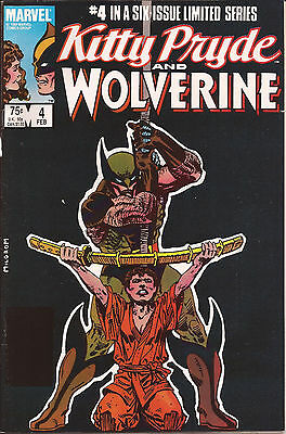 Kitty Pryde and Wolverine #4 (Feb 1985, Marvel)