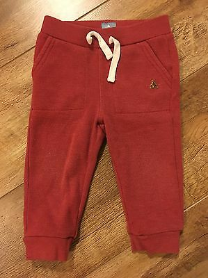 Red Baby Gap Jogging Bottoms 12-18 Months