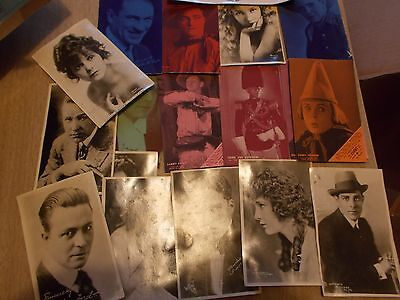 lot of vintage movie star and other post cards