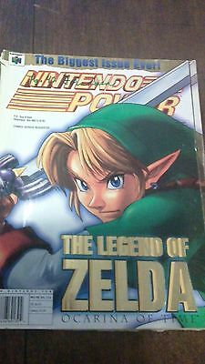 "Nintendo Power Magazine Vol. 114 November 1998 Featuring ""Zelda"", with Poster"