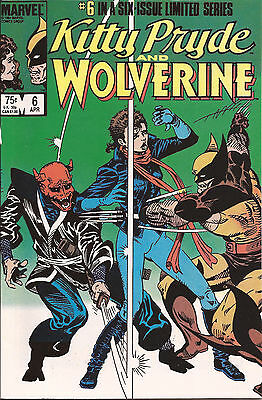 Kitty Pryde and Wolverine #6 (Apr 1985, Marvel)