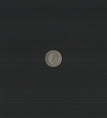 1931 King George V .500 Silver Sixpence Coin