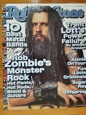 Rob Zombie Rare Rolling Stone Poster
