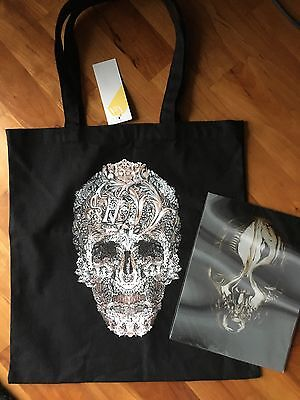 Alexander McQueen V&A Savage beauty Exhibition Cloth Bag And Lenticular Print