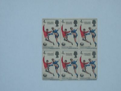 1966 England World Cup Winners postage stamps