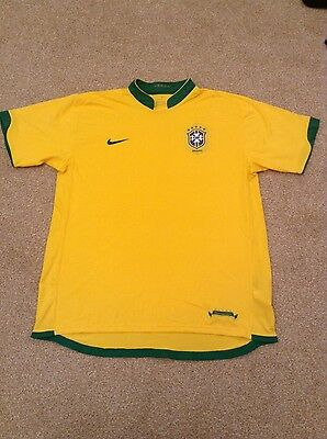 Brazil Nike yellow football shirt size XL BNWOT