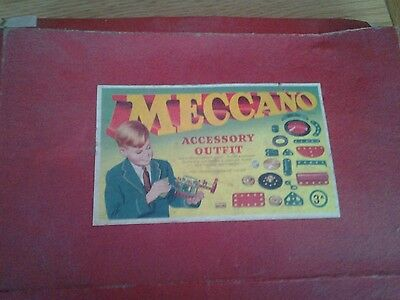 Vintage meccano accessory outfit no.3a