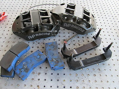 Nascar Ap Rear Calipers Cp 5847-102/103 With Lines , Mounts And Pads