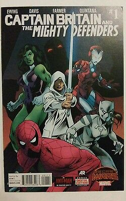 Captain Britain and the Mighty Defenders #1 Secret Wars Marvel 2015 vfn