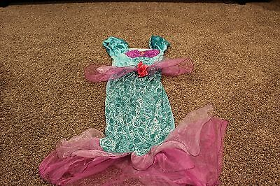 Girl's Disney The Little Mermaid Ariel Halloween Costume Size 8/10 Dress up Play