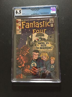Fantastic Four 45  !! Cgc 6.5 !first Inhumans   !! New Case  !!! Hot !!! Hot