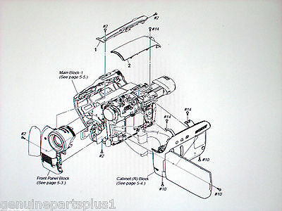 Genuine  Parts For  Sony Dcr-Hc46