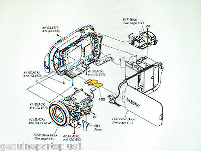 Genuine  Parts For Sony Hdr-Hc3