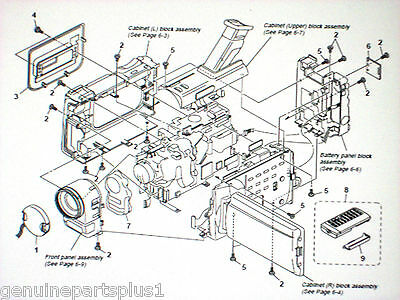 Genuine  Parts For  Sony Dcr-Trv900 $5.00--$55.00