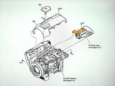 Genuine  Parts For Sony Hdr-Hc5 Hc7