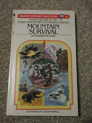 Mountain Survival (Choose Your Own Adventure: 28), Edward Packard (Paperback)