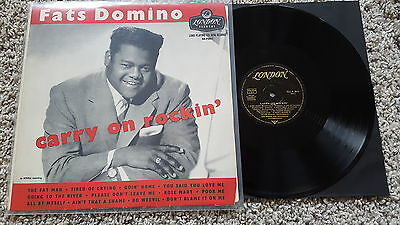 Fats Domino - Carry on rockin' Vinyl LP GERMANY