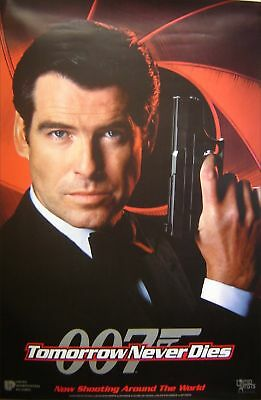 Tomorrow Never Dies Orig Us Advance Poster, (1997)