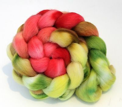 Hand Dyed Texel Wool 100g T10 Combed Wool Top Shunklies
