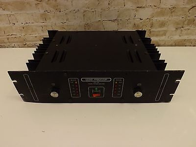 Vintage Mosfet Power Amplifier High Quality Gigging PA Amp