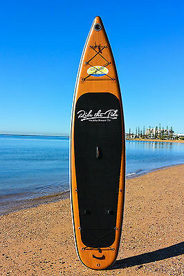 """12'6"""" Ride The Tide Inflatable Stand Up Paddle Board - Full Kit - Free Delivery"""