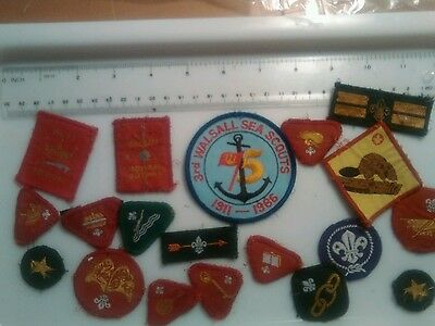 scouts badges collection
