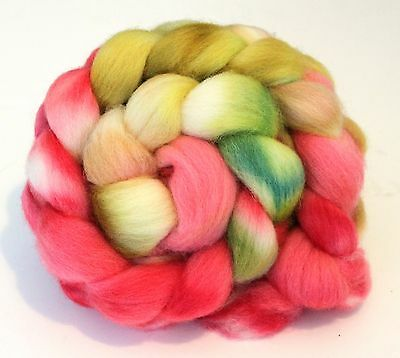 Hand Dyed Texel Wool 100g T06 Combed Wool Top Shunklies