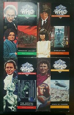 Doctor Who - 4 x Missing Adventures Novels (Virgin Books) - Excellent Condition