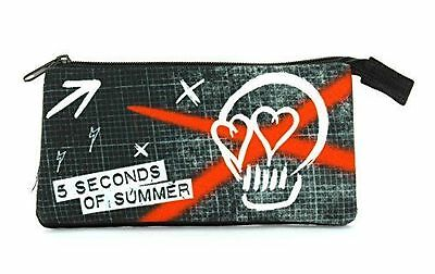 BRAND NEW  - 5 SOS - 5 Seconds of Summer Pencil Case