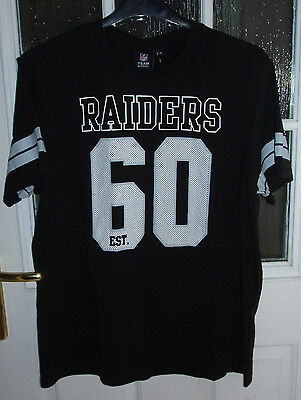 NFL Oakland Raiders Black T-Shirt ~ Size XL ~ new with tags