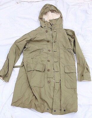 RARE WW2 EARLY WAR 1942 OVERCOAT, PARKA, REVERSIBLE MOUNTAIN SNOW Size 38
