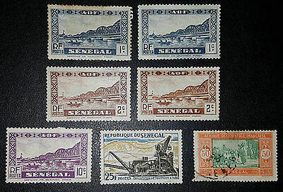 SENEGAL Mixed Selected Stamps (No 834)